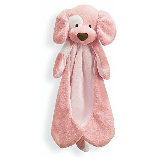 Baby GUND Spunky Huggybuddy Stuffed Animal Plush Blanket, Pink, 15'