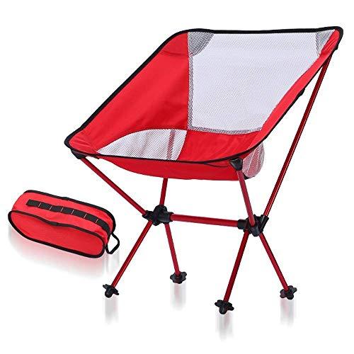 FLZXSQC Sillas plegables duraderas ligeras que acampan de la silla, compacto plegable portátil ultraligero que acampa del mochilero