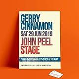 Dibbs Clothing Gerry Cinn1905PR Poster John Peel