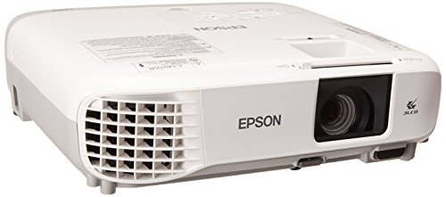 Epson Videoproyector Powerlite S39, SVGA 3300 lúmenes blanco y negro HDMI para Corporación Wi-Fi…