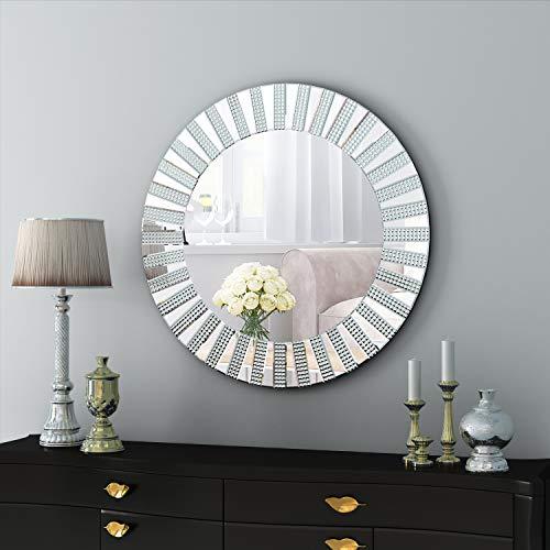 espejo sin marco redondo de la marca COGOOD