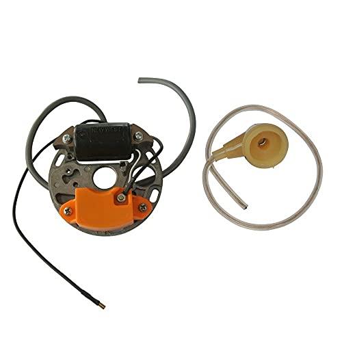 hndfhblshr Módulo de Bobina de Encendido y bujía Compatible con Piezas de Motosierra S-TIHL 070090 090G