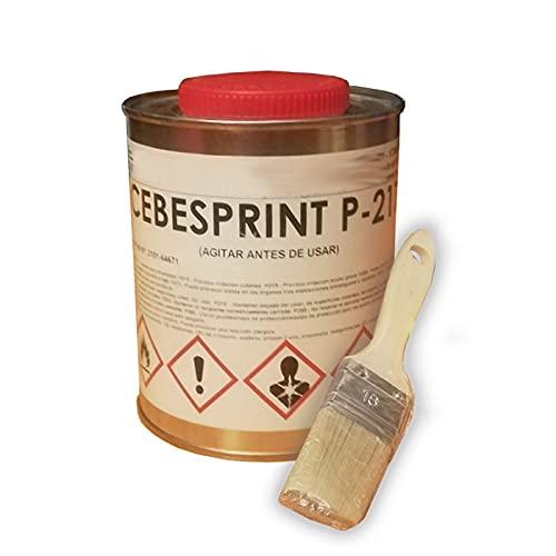 Pegamento para tapizar techo coche - soporta calor extremo.Pincel para aplicarlo de regalo.Bote de 1 Lt de cola alta temperatura