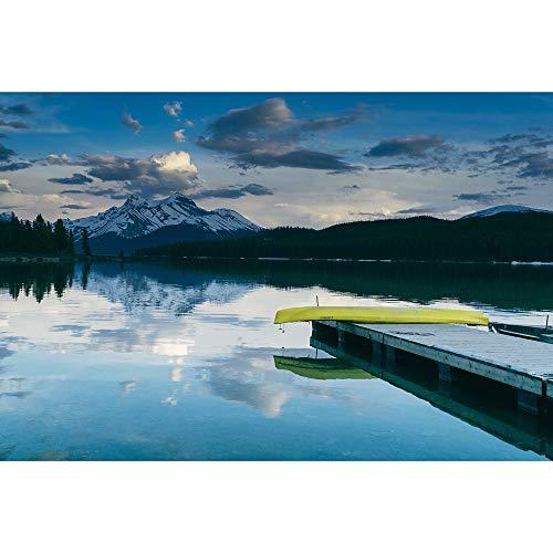 SANSHUI Puzzle Puzzle Calm Lake Reflejo Serie De Paisaje DiscomPresión De Madera Juguetes Educativos Juegos De Entretenimiento 500-6000 Piezas 0121 (Color : No partition, Size : 1000 Pieces)