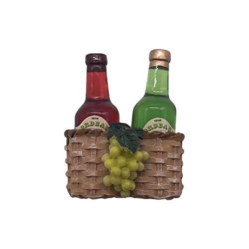 3D Frankreich Wein Kühlschrank Kühlschrankmagnet Touristische Souvenirs Handarbeit Harz Handwerk Magnetischen Aufkleber Home Küche Dekoration Reise Geschenk