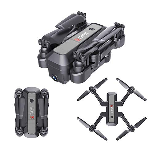 LYHLYH 4K Pliage Drone GPS, Le Retour de positionnement à Double Intelligente aérienne Maison de Quatre Axes Avions Avions téléguidés WiFi pour Les débutants et Les Professionnels