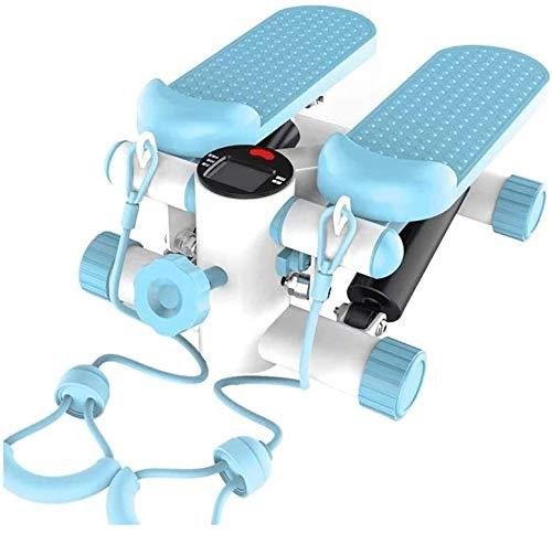 LBWARMB Máquinas de Step Portátil Escalada Modo Deportivo Gimnasios for el hogar Interior de la Escalera Pedales de Mujeres y Hombres de Máquinas de Ejercicio aeróbico Pedales con Pantalla LCD