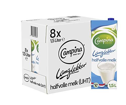 Campina Langlekker Melk Halfvolle 8 x 1.5 L Pak