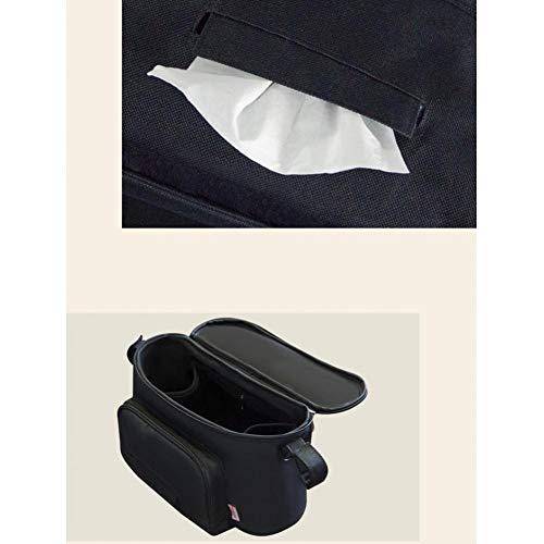 TOSSPER Buggy Organizer Buggy Bag, Organizer De Pram para El Cochecito De Almacenamiento De Pram Bolsas De Pañales Pañales Accesorios De Mochila ✅