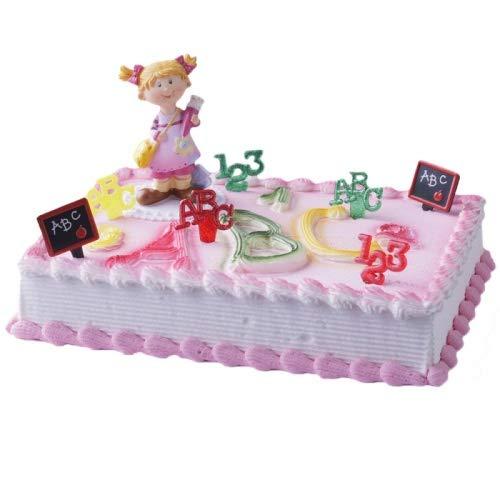 Tortendekoration Cake Company Schulanfang Mädchen