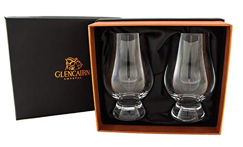 Glencairn Crystal Official Whisky Glasses in Presentation Box   Set of 2