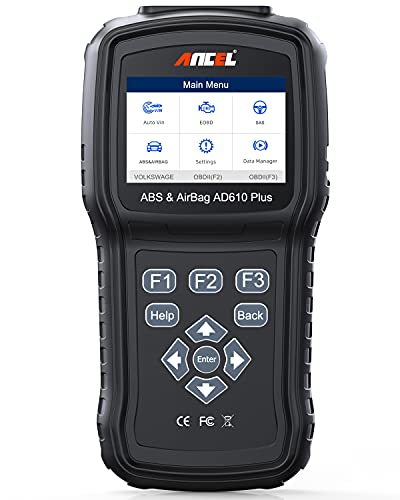ANCEL AD610 Plus+ OBDII Scanner ABS SRS(Airbag) Reset Scan...