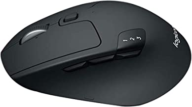 Bluetooth Wireless Mouse 8 Buttons Cordless Mice 2.4GHz 1000DPI Gaming Mice for Multi-Device Office PC Laptop