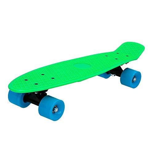 ColorBaby - Monopatín con ruedas PVC 55 cm - Verde (75831)