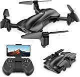 Holy Stone HS165 Faltbare GPS Drohne mit Kamera HD 5G 1080P, Quadrocopter, Helikopter Ferngesteuert mit 90° Weitwinkelobjektiv, GPS Navigation, Tap Fly, Circle Fly, Live Video, Ideal für Kinder