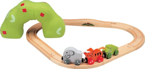 Nuchi Baby's First Jungle Train Set