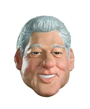 Disguise mens Disguise Clinton Vinyl Mask ,Skin - Light ,Standard
