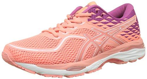 Asics Gel-Cumulus 19, Zapatillas de Running para Mujer, Rosa (Begonia Pink/Begonia Pink/Baton Rouge 0606), 40 EU