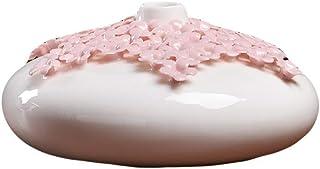 Ceramic Vase Vase New Chinese White Porcelain Decoration Flower Arrangement Chinese Style Home Living Room TV Cabinet Shel...