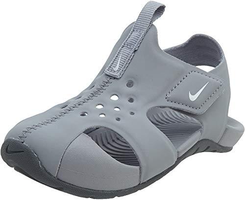Nike Jungen Sandalen Sandaletten Sunray Protect 2 (TD) Grau 27 EU