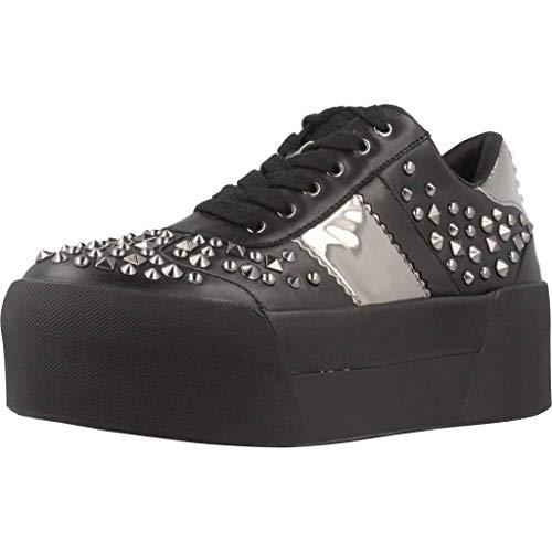 Sneaker Platform Donna Liu-Jo B68013 P0102 Maxy 01 Black con Borchie (36 EU)