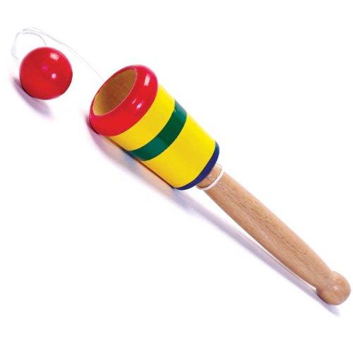 Tobar- Taza Y Bola DE Madera, Color Mixto (ToyPost 8460)