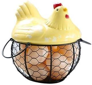 LCM Boîte de Rangement de rangements de Rangement de la boîte de Rangement de la boîte de Rangement des œufs de Poulet cér...