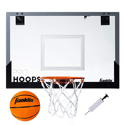 Franklin Sports 25in XL Over The Door Mini Basketball Hoop -...