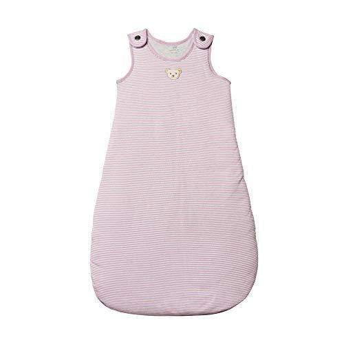 Steiff Baby - Mädchen Schlafsack , Weiß (BRIGHT WHITE 1000) , 74/80 (Herstellergröße:70)