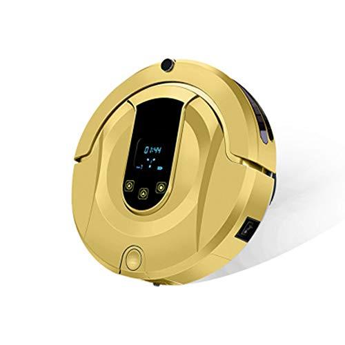 QXM Robot de Balayage Balayage et essuyage Machine de Nettoyage Automatique d'aspirateur ménager,Gold