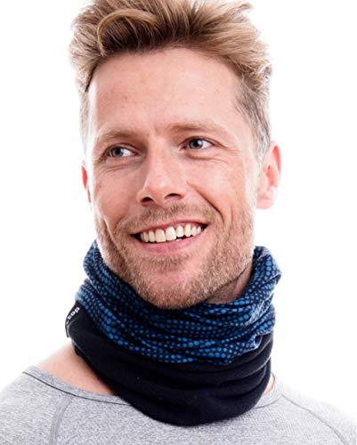 Hilltop Polar Multifunktionstuch Fleece, Halstuch, Schlauchtuch, Bandana, Cooles Design in Trendfarben, für Damen und Herren