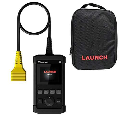 모든 OBDII 프로토콜 자동차에 대한 밀레니엄 40 카 코드 판독기 스캔 도구 OBD2 스캐너 자동차 진단 검사 엔진 라이트 O2 센서 시스템 출시