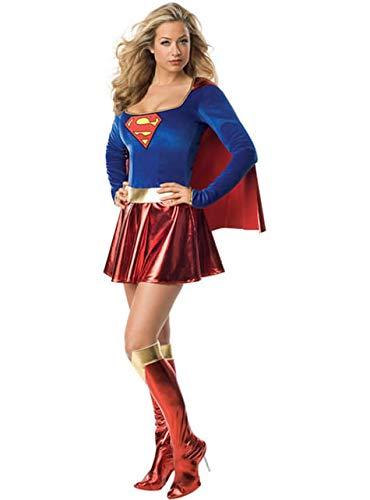 Rubie's-déguisement officiel - Superman - Déguisement Costume Sexy Supergirl - Taille M- I-888239M