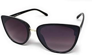 d3ee1a5c14 O.M Vision Gafas de Sol Mujer Ojos de Gato Antirreflectante Protección  UV400 contra Rayos UVA y