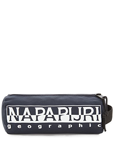 Napapijri Happy Pencil Case Federmäppchen, 22 cm, Blu Marine