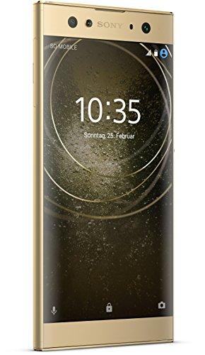 Sony Xperia XA2 Ultra Smartphone (15,2 cm (6 Zoll) Full HD Display, 32 GB Speicher, 4 GB RAM, Android 8.0) Gold - Deutsche Version