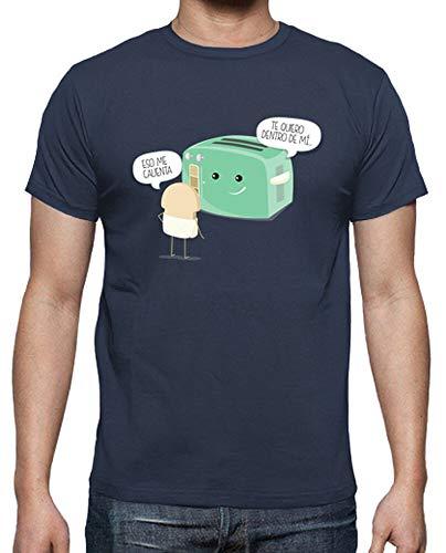 latostadora - Camiseta Tostadora Atrevida para Hombre