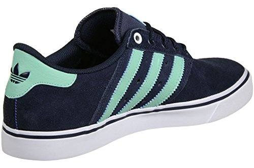 adidas Seeley Premiere Schuhe 7,5 navy/green/white