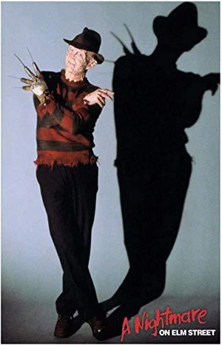 Lienzo de arte de pared 50x70cm Sin marco Pesadilla en ELM Street Película clásica Freddy Krueger Friday Hd Art Poster Decor Regalo único