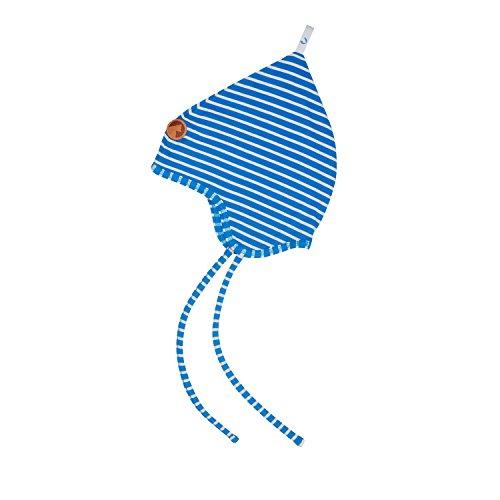 Finkid Popili Blue Offwhite Kinder Zipfelmütze