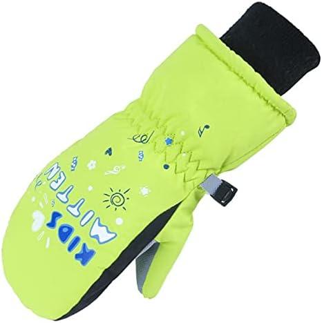 Soapow Winter Ski Snow Gloves Cold Weather Waterproof Warm Snowboard Gloves Mitten for Winter