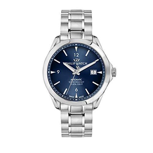 Philip Horloge, Heren Horloge, Blaze Collectie, Drie Handen met Datum, Gemaakt van RVS - R8223165001