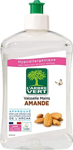 L'Arbre Vert Líquido lavavajillas, almendra, 500 ml