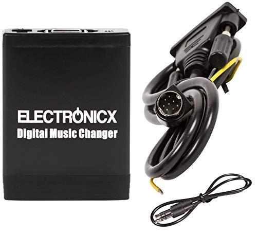 Electronicx Elec-M06-VOLSC Adaptador de radio para coche USB, SD, AUX, MP3, CD,...