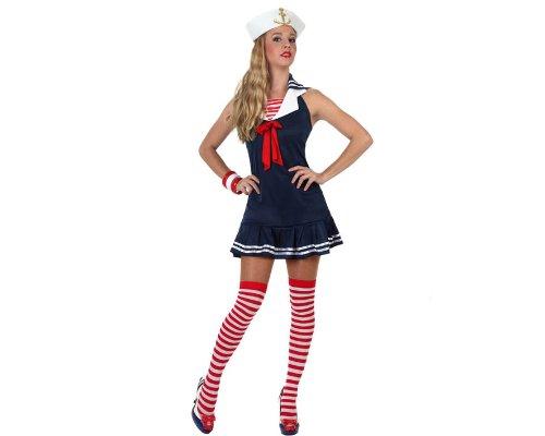 Atosa 97204 - Disfraz de marinero para mujer, talla M-L