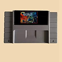 16 Bit 46 Pin Game Cartridge - Contra III The Alien Wars 16 Bit 46 Pin Game Card