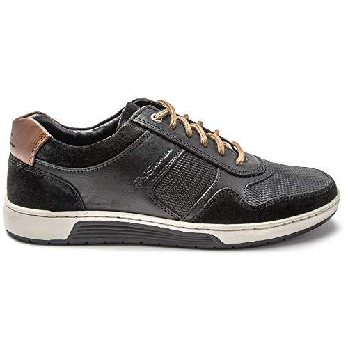 Ben Sherman Mens Eddy Sneakers Black 12