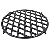 VICOOL 8834 Gourmet BBQ System Sear Grate for 22.5' Weber Charcoal Grills,12 Inches Porcelain-Enameled Cast-Iron Round Cooking Grid Grill Grate Replacement Barbecue Accessories