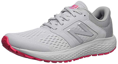 New Balance womens 520 V5 Running Shoe, Summer Fog/Guava/Team Away Grey, 7.5 US