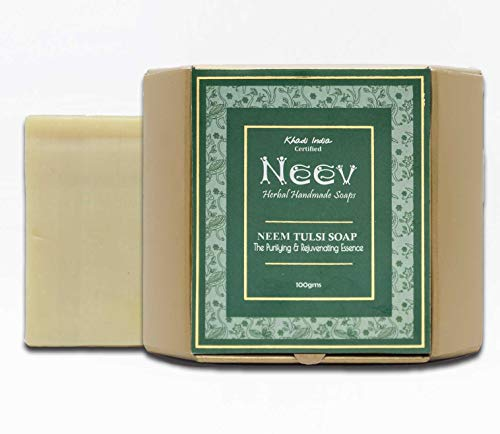 Neev Herbal Handmade Soaps Neem Tulsi Handmade Soap